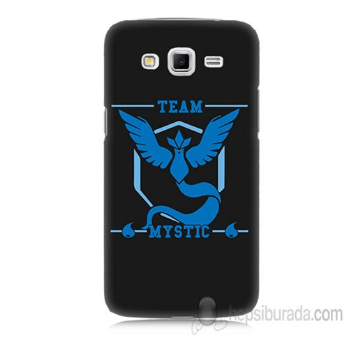 Teknomeg Samsung Galaxy Grand 2 Kapak Kılıf Pokemon Team Mystic Baskılı Silikon
