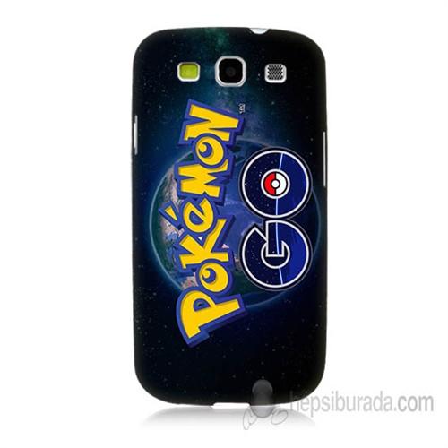 Teknomeg Samsung Galaxy S3 Kapak Kılıf Pokemon Go Baskılı Silikon