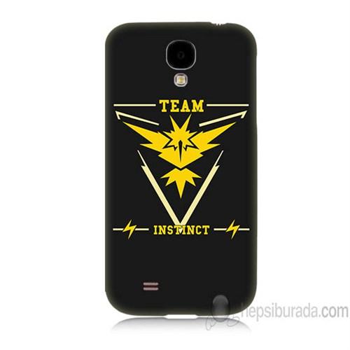 Teknomeg Samsung Galaxy S4 Kapak Kılıf Pokemon Team Instinct Baskılı Silikon