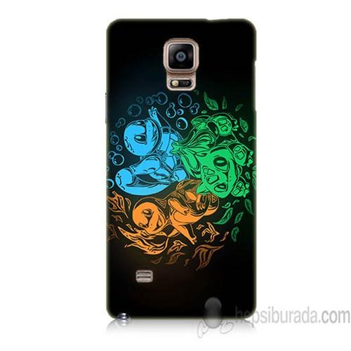 Teknomeg Samsung Galaxy Note 4 Kapak Kılıf Pokemon Baskılı Silikon