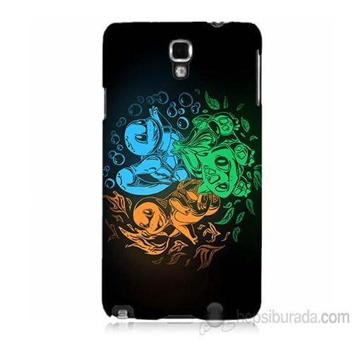 Teknomeg Samsung Galaxy Note 3 Neo Kapak Kılıf Pokemon Baskılı Silikon