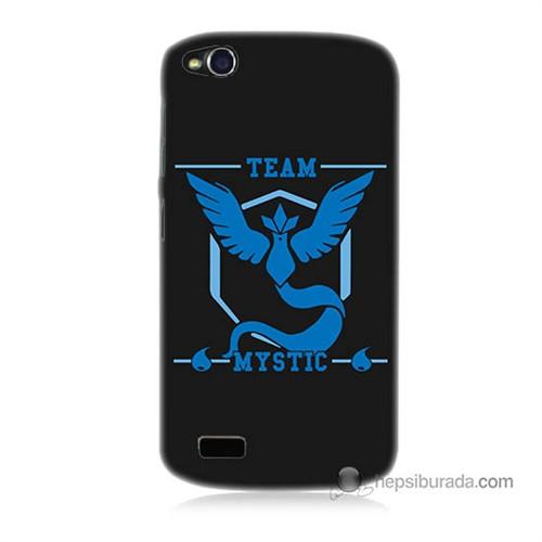 Teknomeg General Mobile Discovery Kapak Kılıf Pokemon Team Mystic Baskılı Silikon