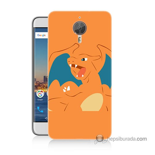 Teknomeg General Mobile Discovery Gm5 Plus Kapak Kılıf Pokemon Charmander Baskılı Silikon