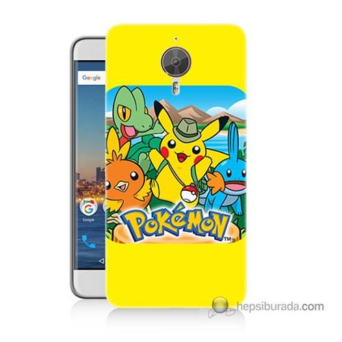 Teknomeg General Mobile Discovery Gm5 Plus Kapak Kılıf Pokemon Baskılı Silikon