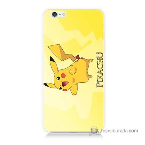 Teknomeg İphone 6 Kapak Kılıf Pokemon Pikachu Baskılı Silikon