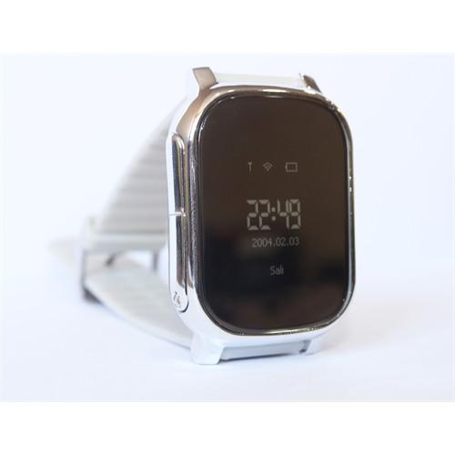 Watch Wiky Silver Gps 003-02 Wiky Adult Yetişkin Akıllı Saat