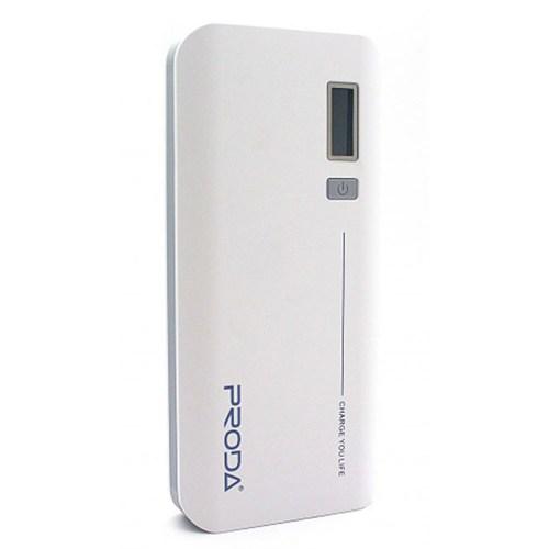 Remax Proda 20000 Mah Powerbank Beyaz Dijital Göstergeli Yedek Batarya