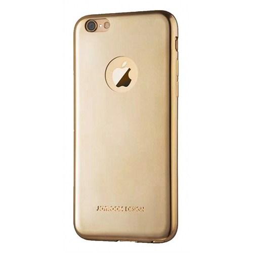 Joyroom iPhone 6 Plus-6S Plus Ultra Fit Gold Silikon Kılıf