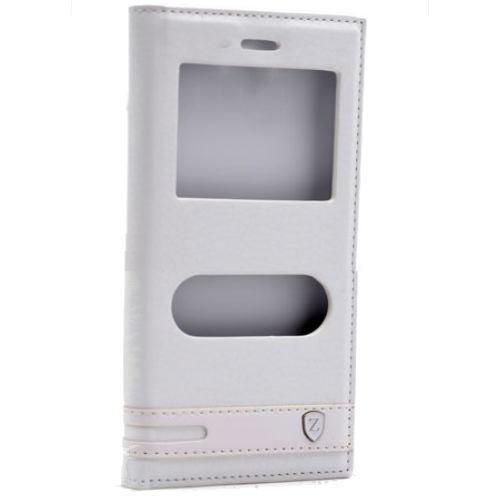 Teleplus Turkcell T70 Çift Pencereli Kılıf Beyaz