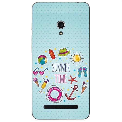 Cover&Case Asus Zenfone 5 Lite Silikon Tasarım Telefon Kılıfı