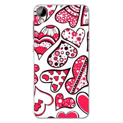 Cover&Case Htc Desire 825 Silikon Tasarım Telefon Kılıfı