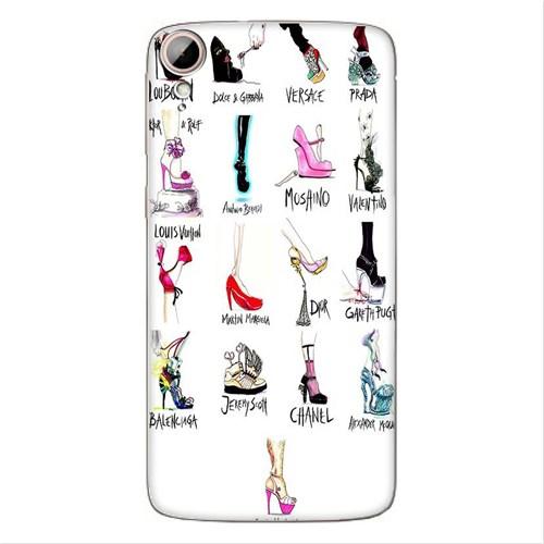 Cover&Case Htc Desire 828 Silikon Tasarım Telefon Kılıfı