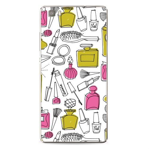 Cover&Case Huawei P8 Lite Silikon Tasarım Telefon Kılıfı