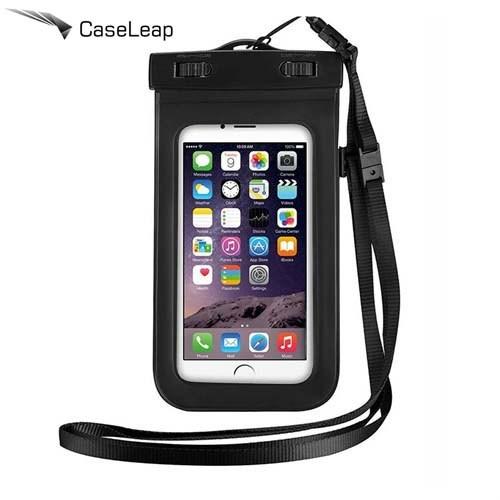 Case Leap Apple iPhone 6/6s Su Geçirmez Kılıf Siyah