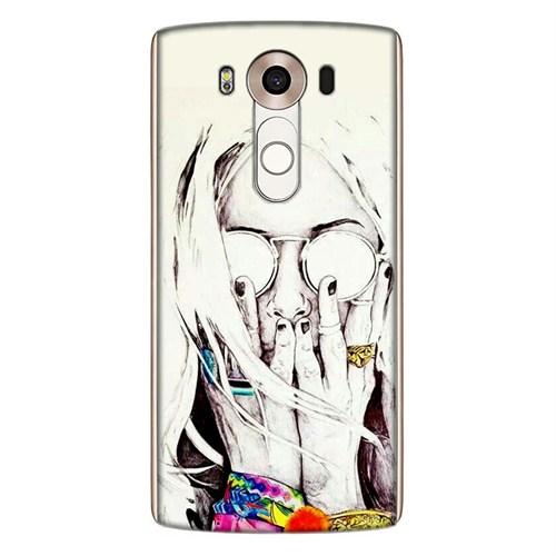 Cover&Case Lg V10 Silikon Tasarım Telefon Kılıfı