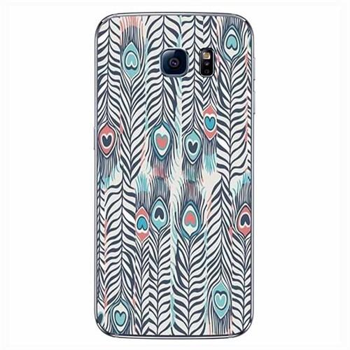 Cover&Case Samsung Galaxy S6 Edge Silikon Tasarım Telefon Kılıfı