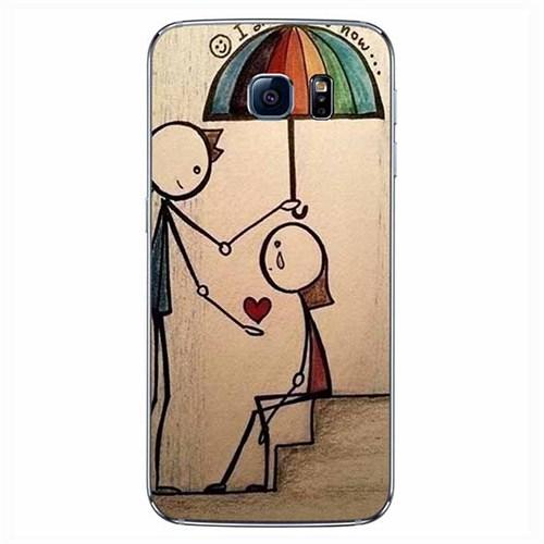 Cover&Case Samsung Galaxy S7 Edge Silikon Tasarım Telefon Kılıfı