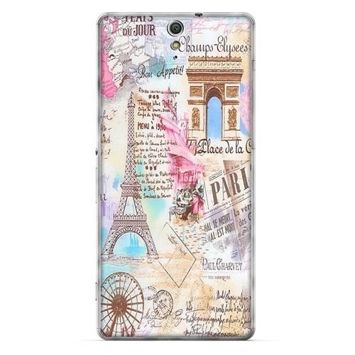 Cover&Case Sony Xperia C6 Silikon Tasarım Telefon Kılıfı