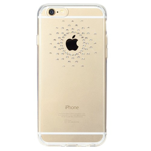 Ringke Noble Fusion iPhone 6s/ 6 Taşlı Kılıf Extra Darbe Emici - Sun Clear