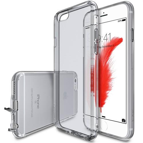 Ringke Air iPhone 6s/ 6 Kılıf Smoke Black - Ultra Hafif Esnek İnce Renkli Transparan