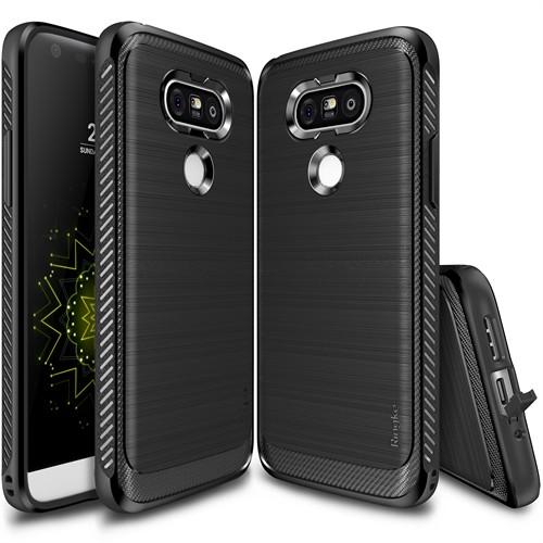 Ringke Onyx LG G5 Kılıf Black - Ultra Extra Darbe Dağıtıcı Tam Koruma