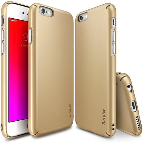 Ringke Apple İphone 6S Plus/ 6 Plus Slim Royal Gold Kılıf