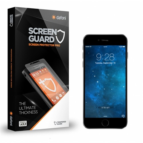 Dafoni Apple İphone 6 Plus / 6S Plus Tempered Glass Premium Ön + Ar