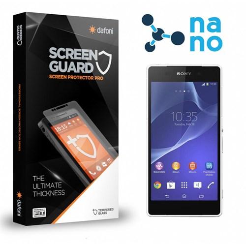 Dafoni Sony Xperia Z2 Nano Glass Premium Cam Ekran Koruyucu