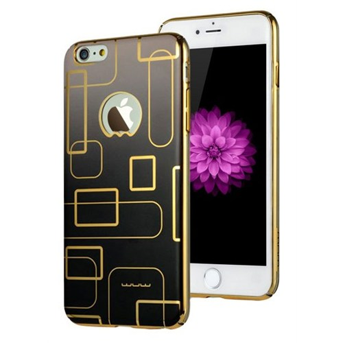 Jlw Apple iPhone 6 / 6S Color Palette Siyah Rubber Kılıf