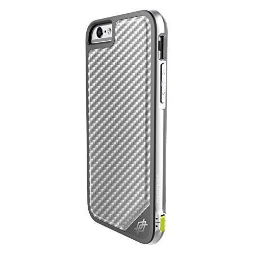X-Doria Defense Lux İphone 6 Plus / 6S Plus Ultra Koruma Silver Karbon Kılıf