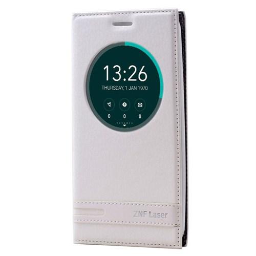 Cep Market Asus Zenfone Laser 550Kl Kılıf Pencereli Elite