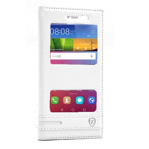 Cep Market Huawei Gr3 Kılıf Çift Pencereli Elite