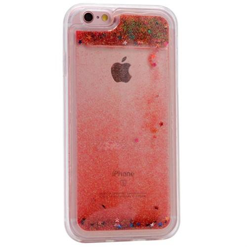 Cep Market Apple İphone 5 Kılıf Sulu Simli Silikon