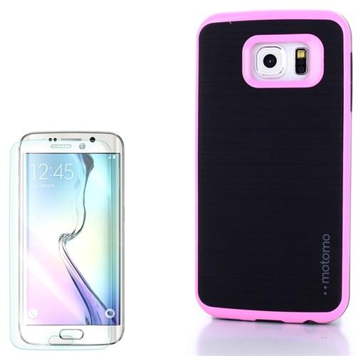 Cep Market Samsung Galaxy S7 Kılıf Motomo Arka Kapak + Kırılmaz Cam
