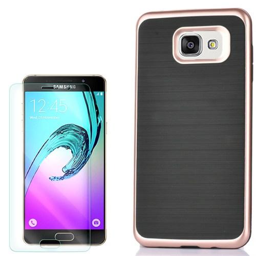 Cep Market Samsung Galaxy A7 2016 Kılıf İnfinity Motomo + Kırılmaz Cam
