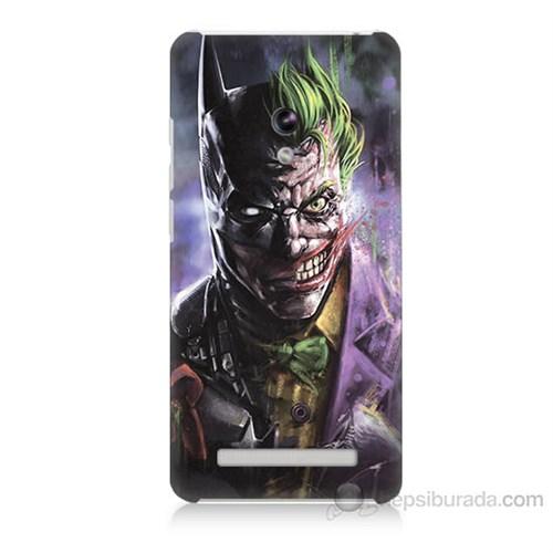 Teknomeg Asus Zenfone 5 Lite Joker Vs Batman Baskılı Silikon Kapak Kılıf