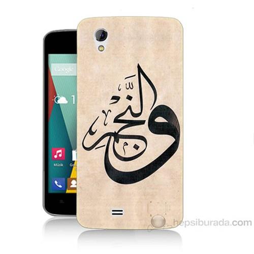 Teknomeg General Mobile Discovery 2 Mini Arapça Baskılı Silikon Kapak Kılıf