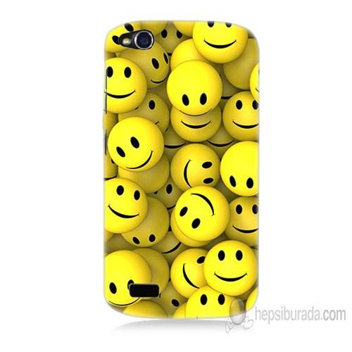 Teknomeg General Mobile Discovery Smile Baskılı Silikon Kapak Kılıf