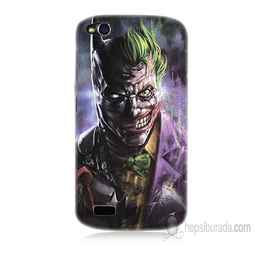 Teknomeg General Mobile Discovery Joker Vs Batman Baskılı Silikon Kapak Kılıf
