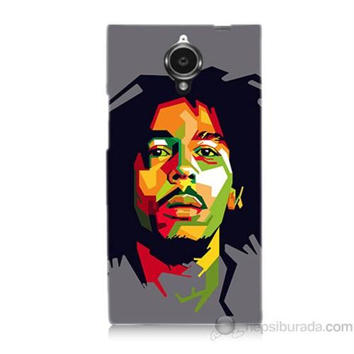 Teknomeg General Mobile Discovery Elite Bob Marley Baskılı Silikon Kapak Kılıf