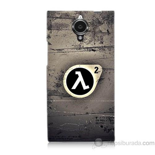 Teknomeg General Mobile Discovery Elite Half Life Baskılı Silikon Kapak Kılıf