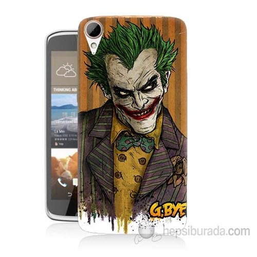 Teknomeg Htc Desire 828 Joker Baskılı Silikon Kapak Kılıf