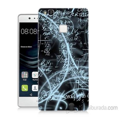 Teknomeg Huawei P9 Lite Matematik Baskılı Silikon Kapak Kılıf