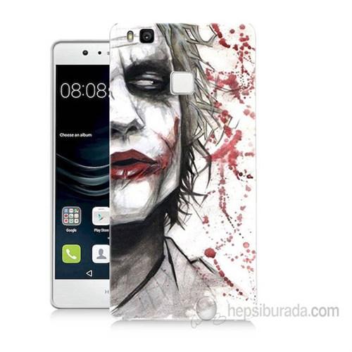 Teknomeg Huawei P9 Lite Kanlı Joker Baskılı Silikon Kapak Kılıf