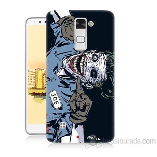 Teknomeg Lg Stylus 2 Joe Joker Baskılı Silikon Kapak Kılıf