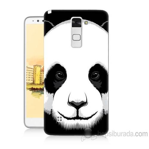Teknomeg Lg Stylus 2 Panda Baskılı Silikon Kapak Kılıf