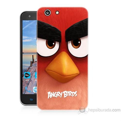 Teknomeg Turkcell T70 Angry Birds Baskılı Silikon Kapak Kılıf