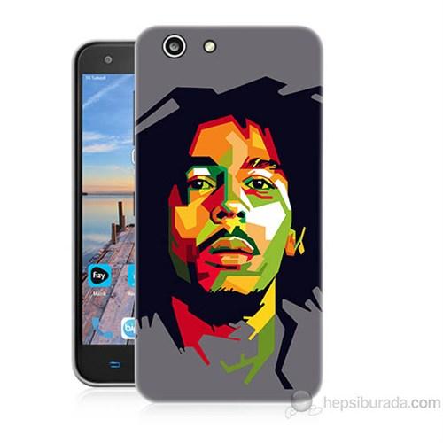 Teknomeg Turkcell T70 Bob Marley Baskılı Silikon Kapak Kılıf