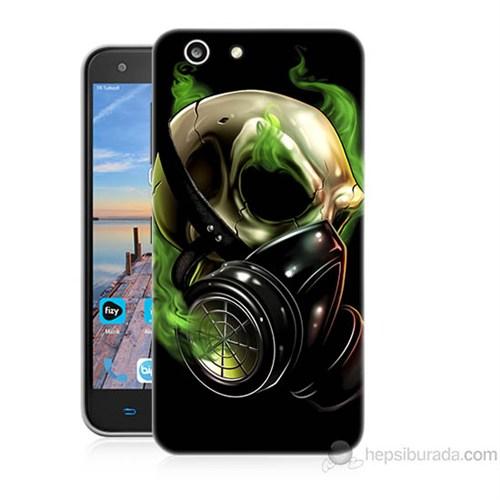Teknomeg Turkcell T70 Ölüm Maskesi Baskılı Silikon Kapak Kılıf