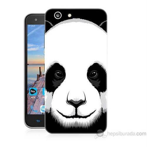 Teknomeg Turkcell T70 Panda Baskılı Silikon Kapak Kılıf